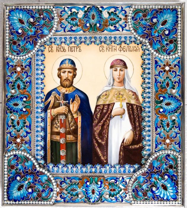 петр и феврония000.jpg изм 8 июля – день памяти святых Петра и Февронии Муромских.